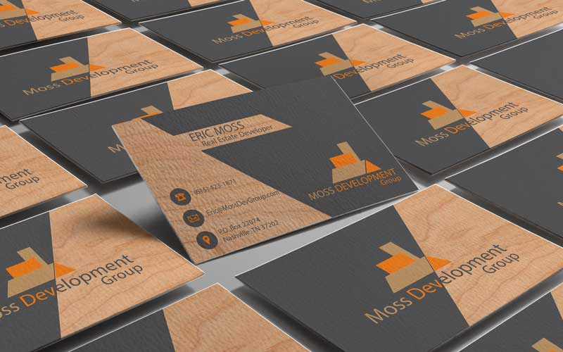 moss development business card rendering by lataevia berry